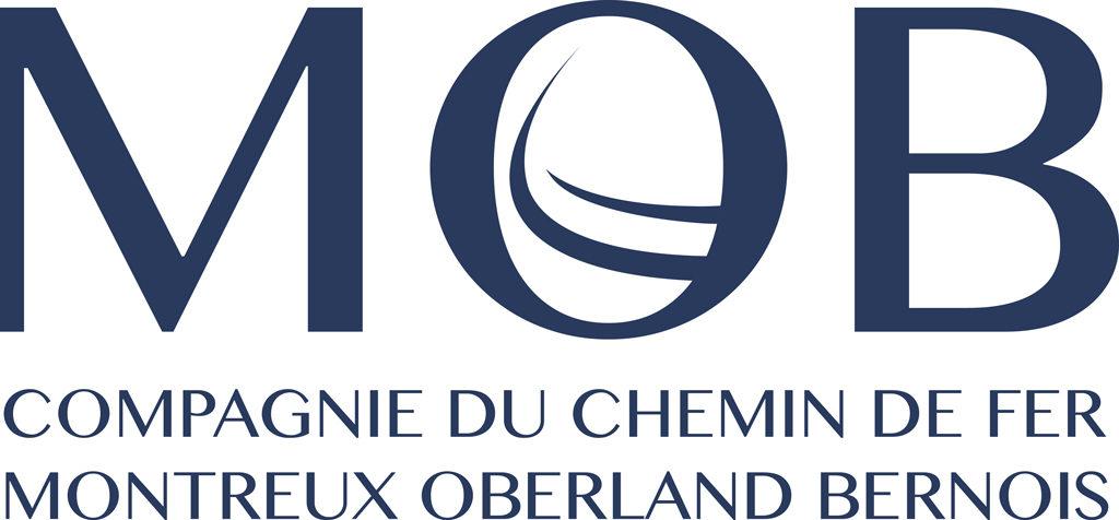 Logo MOB Compagnie du chemin de fer Montreux Oberland Bernois